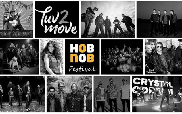 Huureenvideozuil ook sponsor van rockfestival Hob Nob