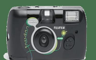Polaroid camera huren?